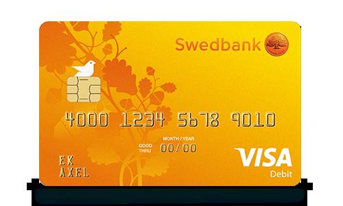 Bankkort Visa Betala Och Ta Ut Pengar I Hela Varlden Swedbank