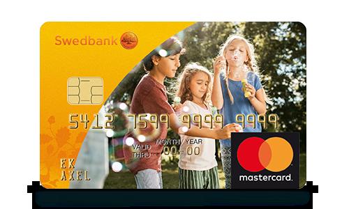 a2bd4201 Kort på kort Mastercard. Gör ditt kort personligt – designa ditt eget  bankkort ...